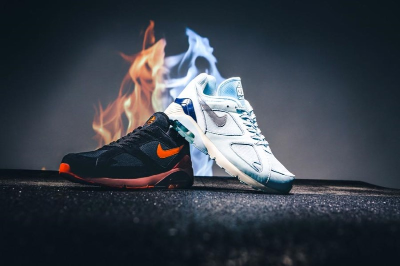 Nike Air Max 180 Fire & Ice Pack