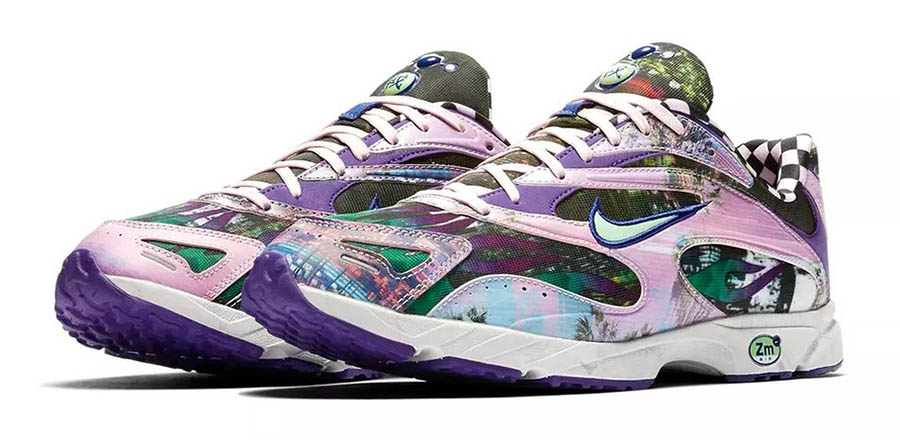 Nike Zoom Streak Spectrum Plus Court Purple