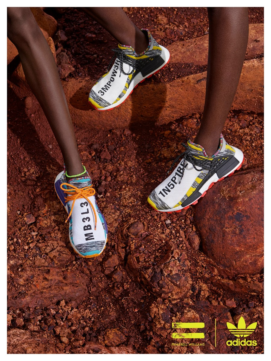 Pharrell x adidas Originals SOLARHU Pack