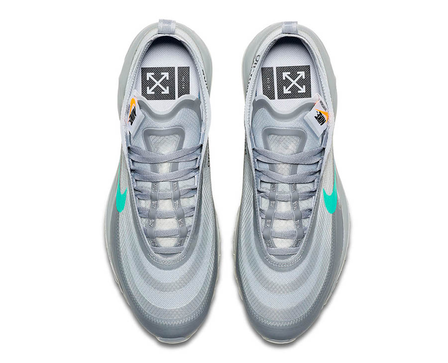 Off-White x Nike Air Max 97 Wolf Grey Menta