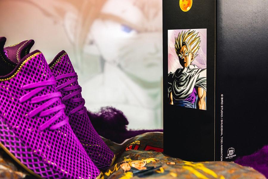 Dragon Ball Z x adidas Originals Deerupt Son Gohan