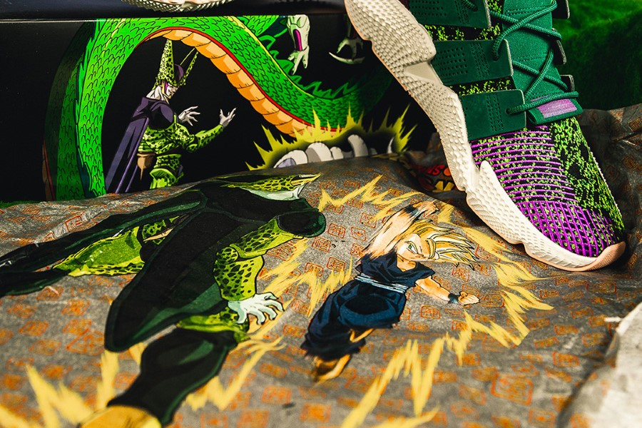 Dragon Ball Z x adidas Originals Prophere Cell