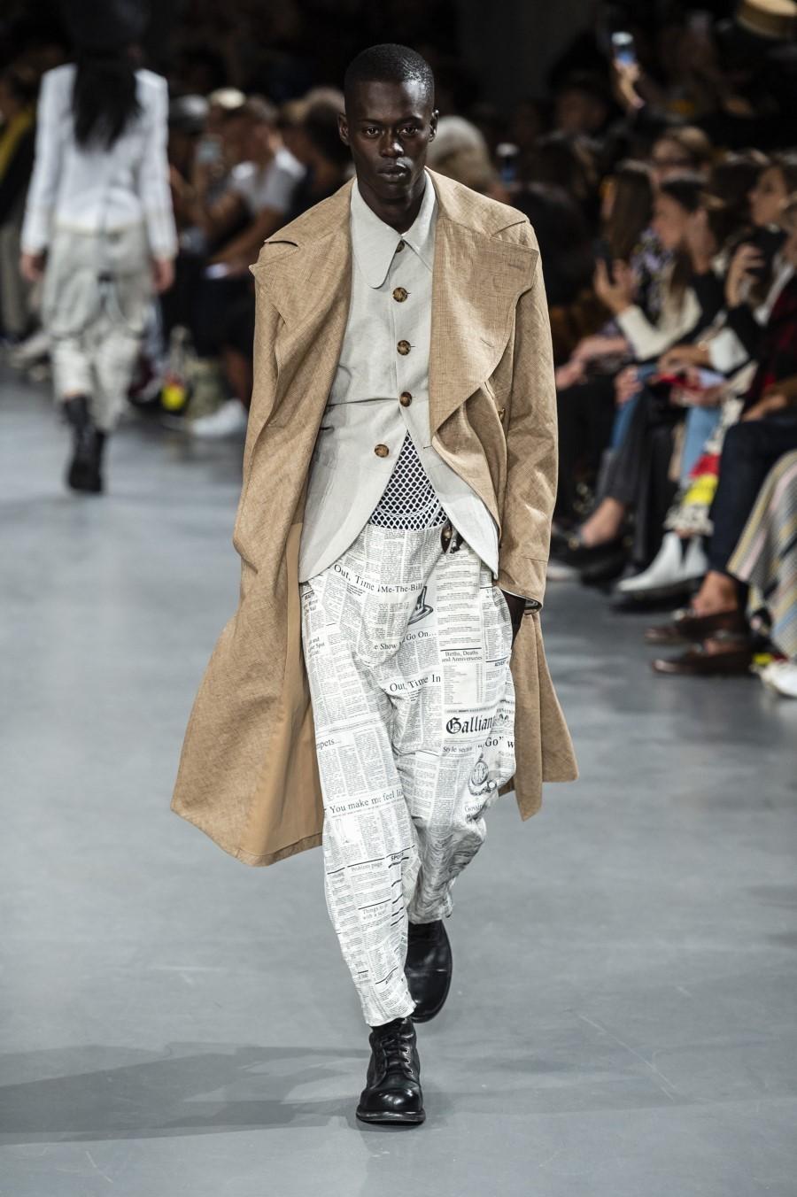 John Galliano Printemps/Été 2019 – Paris Fashion Week