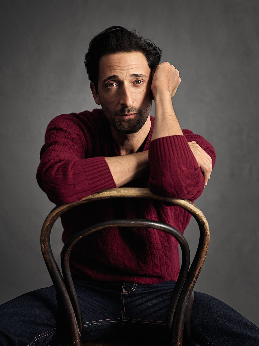 MANGO Man 10è Anniversaire Collection Capsule - Adrien Brody - Mario Sorrenti