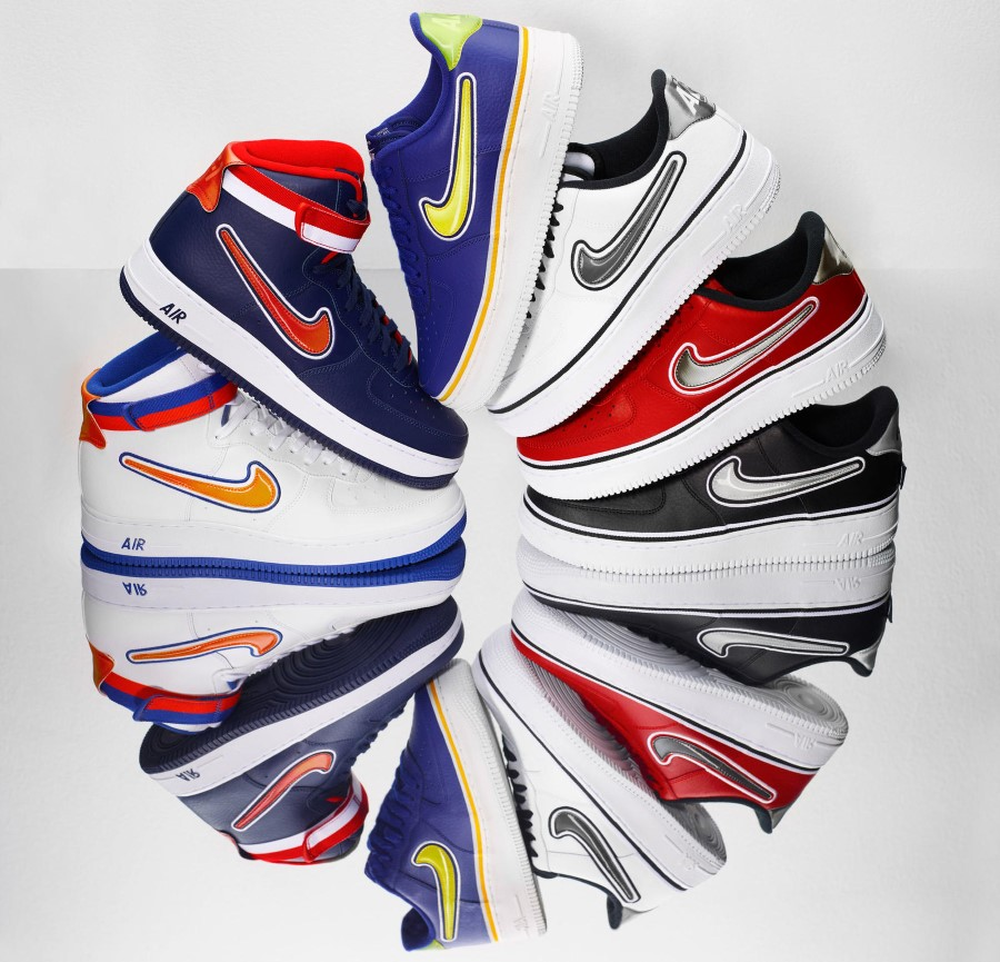 Nike Air Force 1 Pack NBA