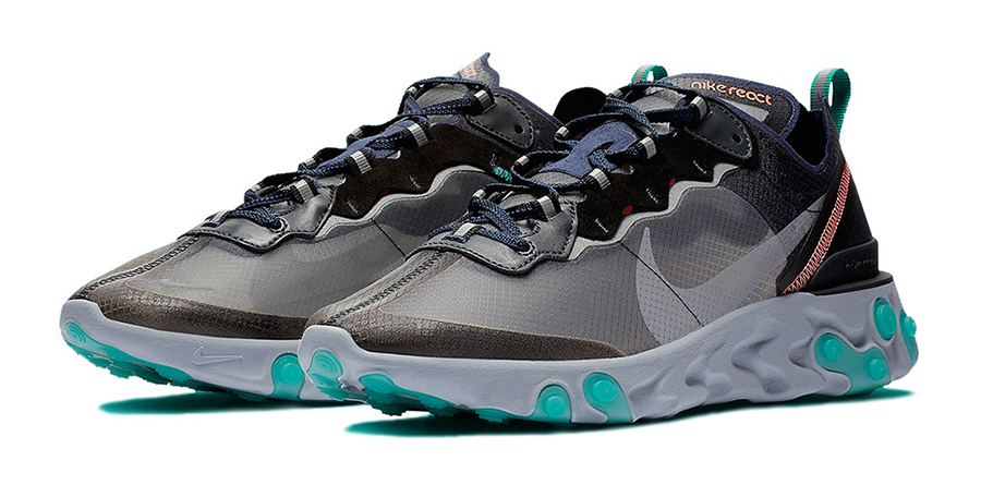 Nike React Element 87 Neptune Green