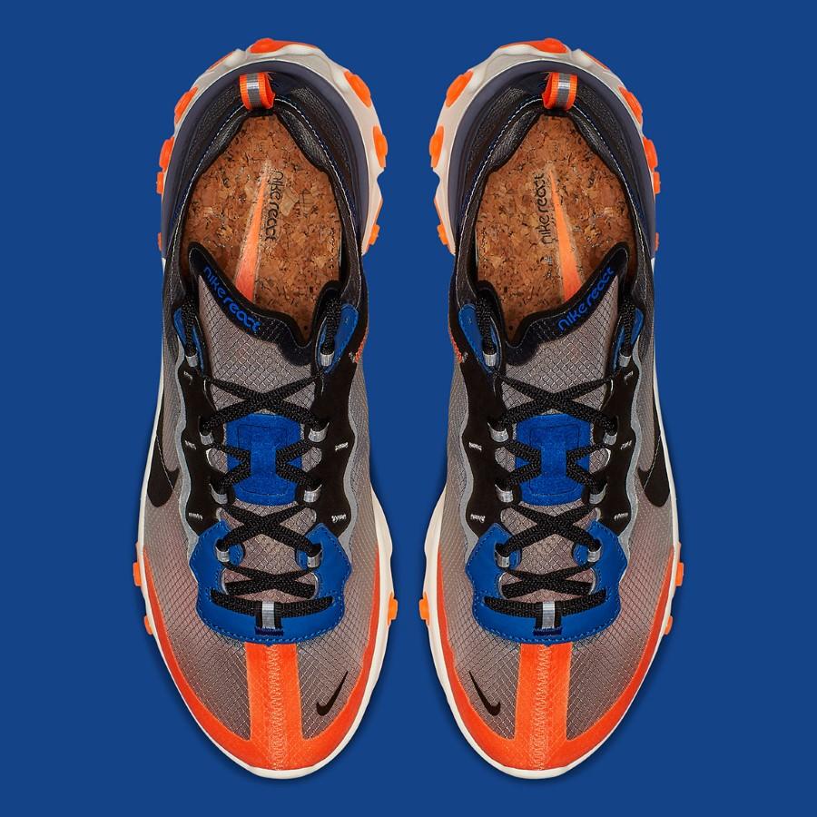 Nike React Element 87 Thunder Blue Orange
