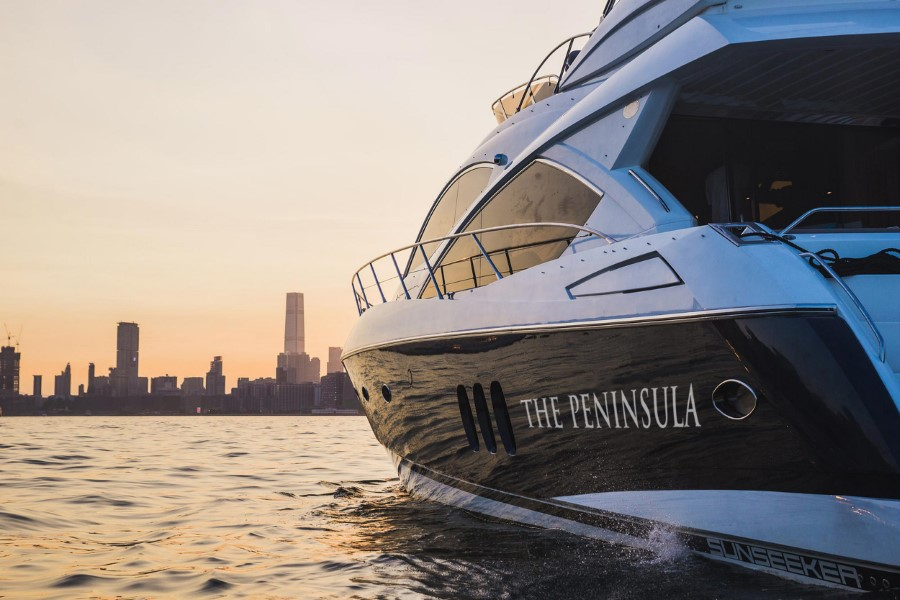 The Peninsula Luxury Yacht