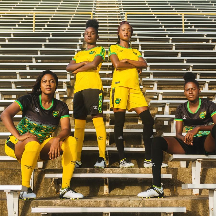 Umbro x Fédération de Jamaïque de Football - Maillots 2018-2019