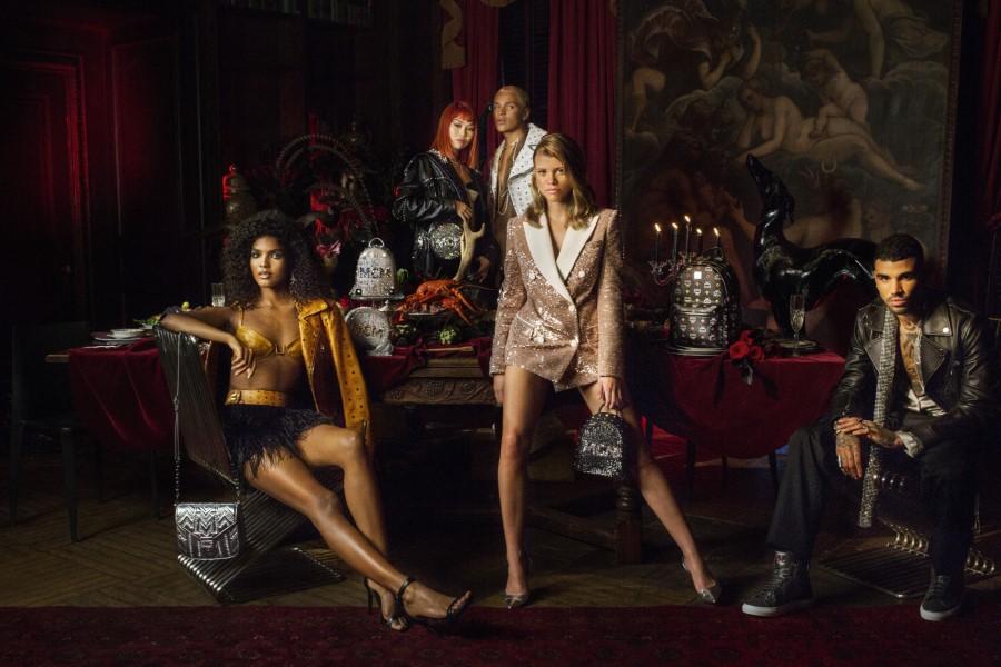 Campagne MCM Festive 2018 par Sofia et Miles Richie
