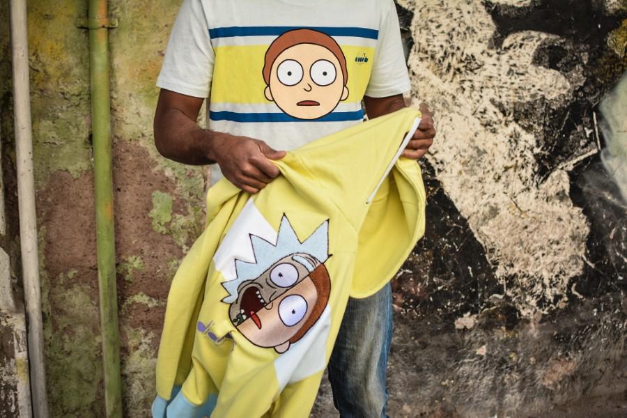 Diadora x Rick & Morty Sneakers