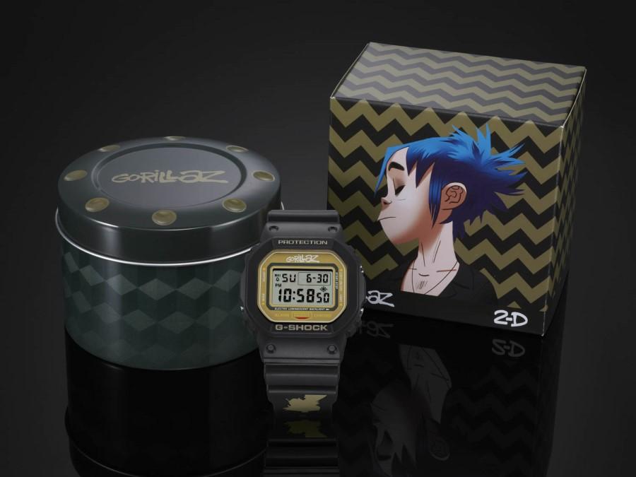 G-SHOCK x Gorillaz 2D