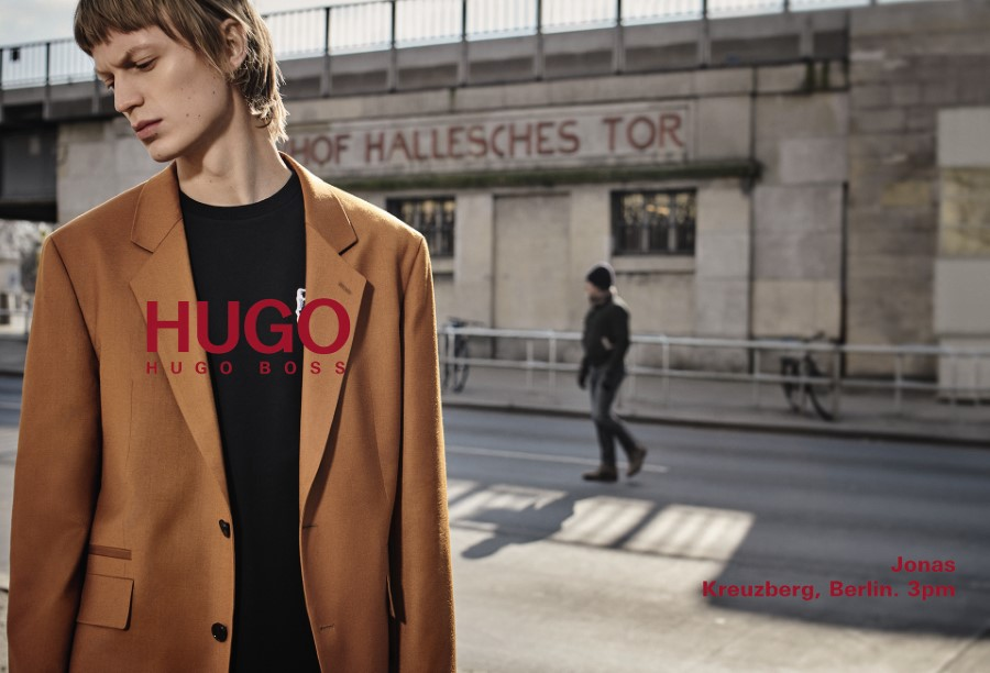 HUGO by Hugo Boss Campagne Automne-Hiver 2018