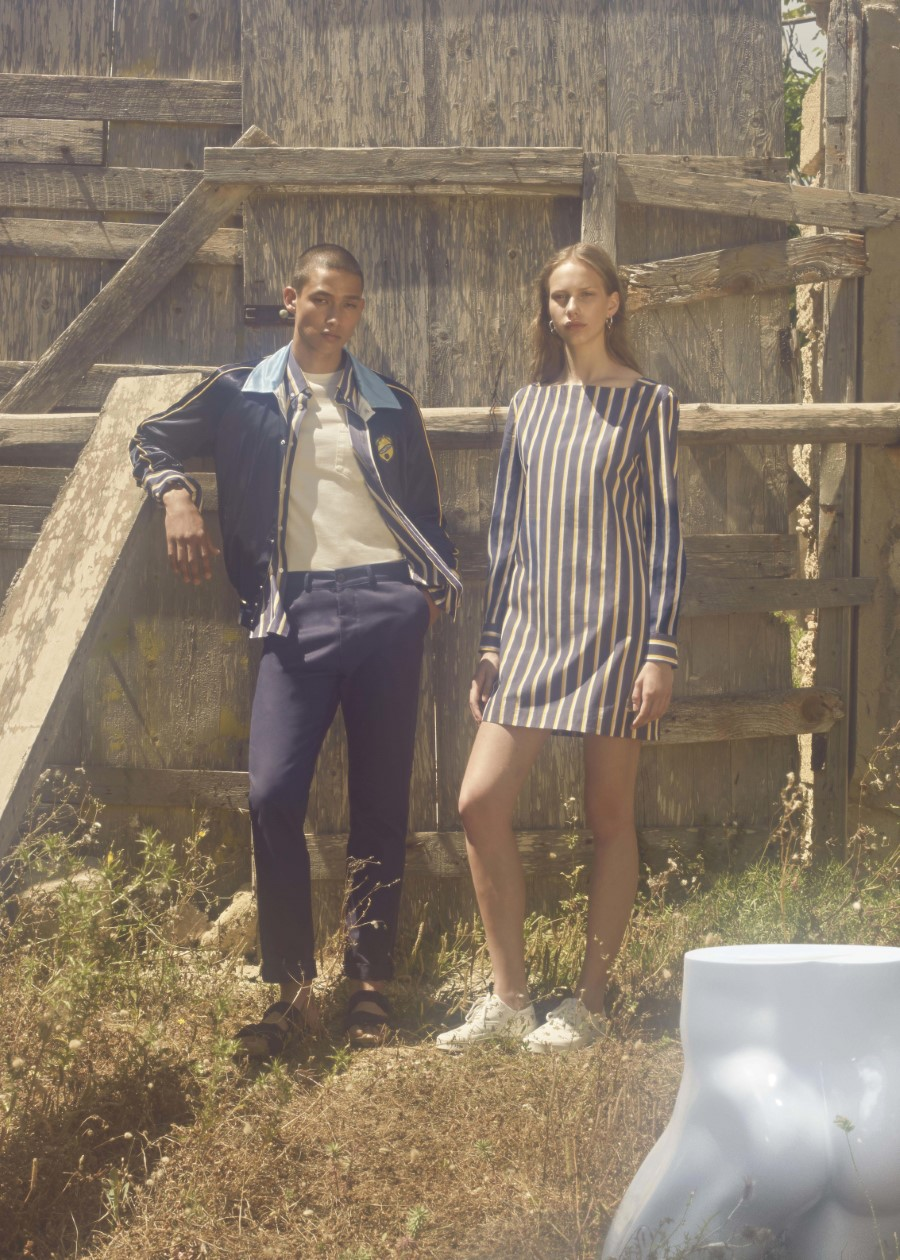 Maison Kitsuné Ancora Tu collection Printemps/Été 2019