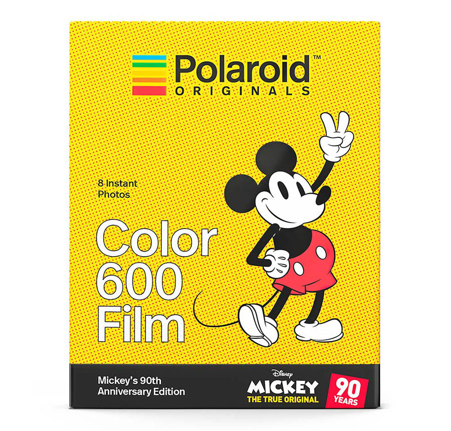 Polaroid Originals x Mickey Mouse