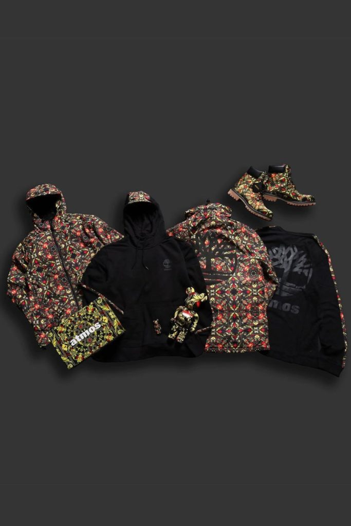 Timberland x atmos Collection Scarf