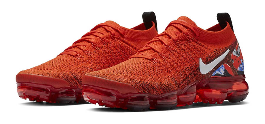 nike air vapormax flyknit 2 rouge