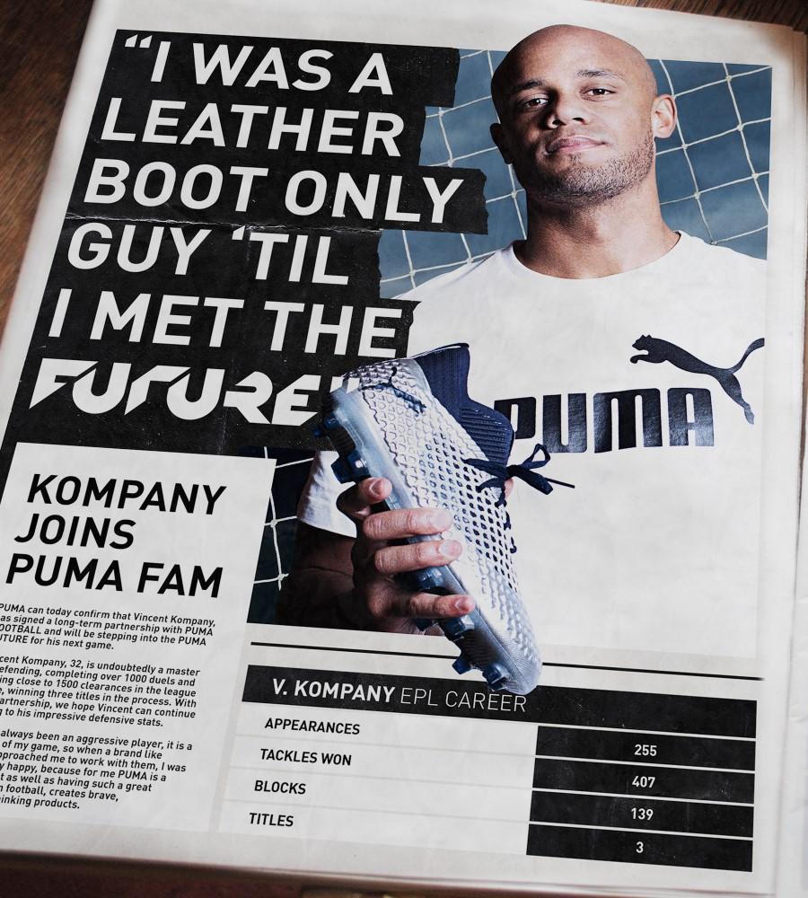 PUMA Football x Vincent Kompany