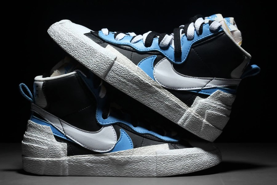 Sacai x Nike Blazer With The Dunk