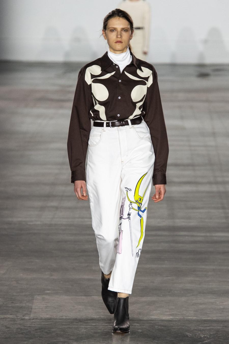 Alex Mullins Automne-Hiver 2019-2020 - London Fashion Week Men's