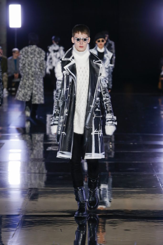 Balmain Homme Automne/Hiver 2019 - Paris Fashion Week