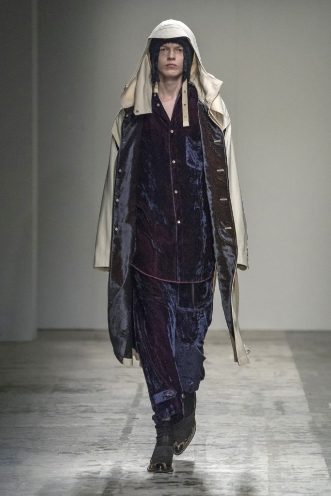 Bed J.W. Ford Automne/Hiver 2019 - Milan Fashion Week