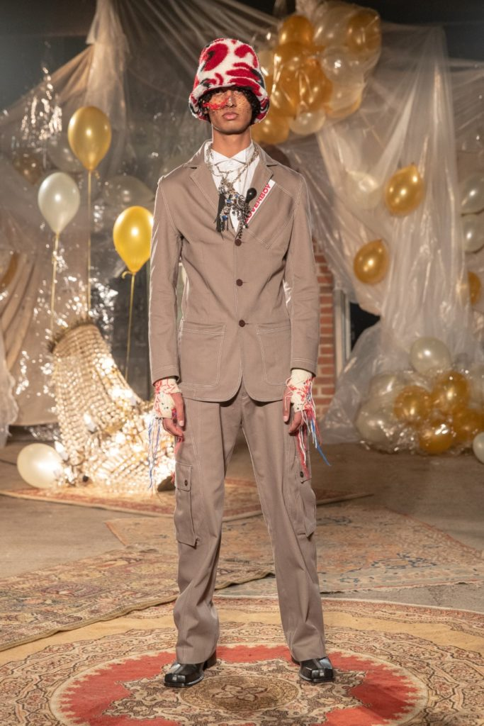 Charles Jeffrey Loverboy Automne-Hiver 2019-2020 - London Fashion Week Men's