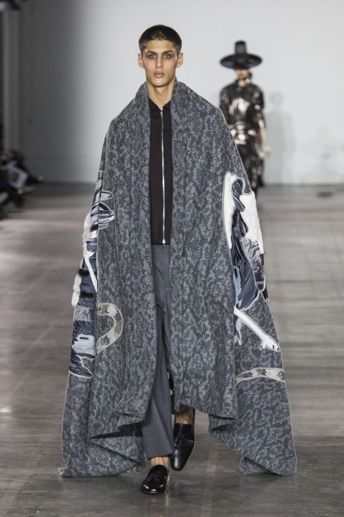 Edward Crutchley Automne-Hiver 2019-2020 - London Fashion Week Men's