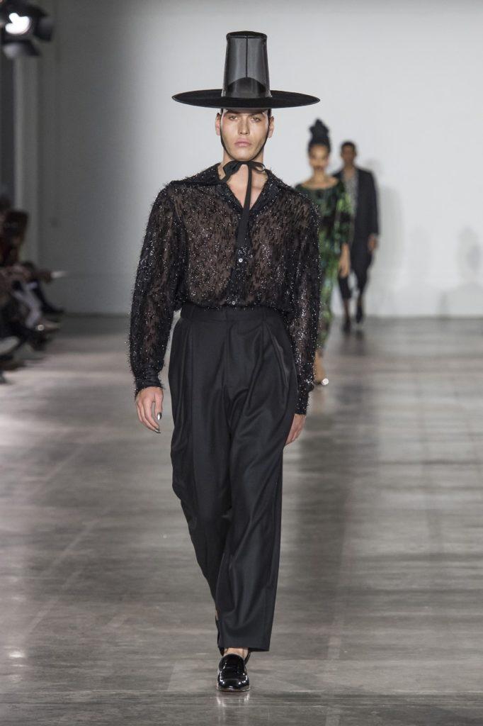 Edward Crutchley Automne-Hiver 2019-2020 - London Fashion Week Men's