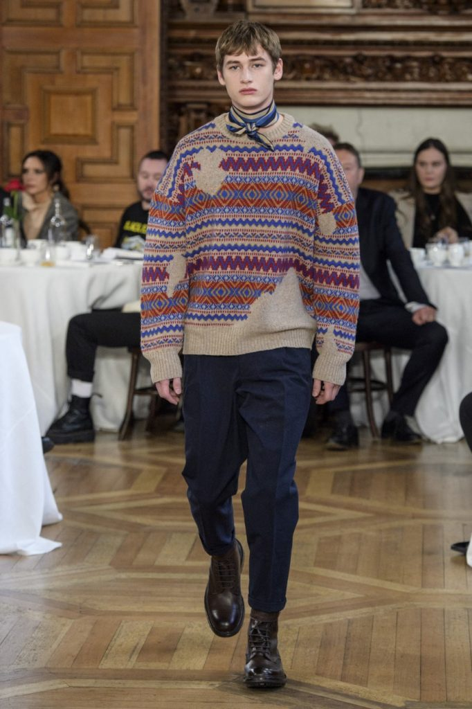 Kent & Curwen Automne-Hiver 2019-2020 - London Fashion Week Men's