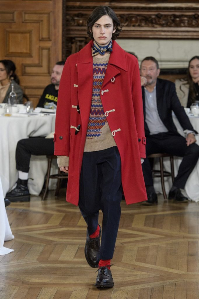 Kent & Curwen Automne-Hiver 2019-2020 - London Fashion Week Men's
