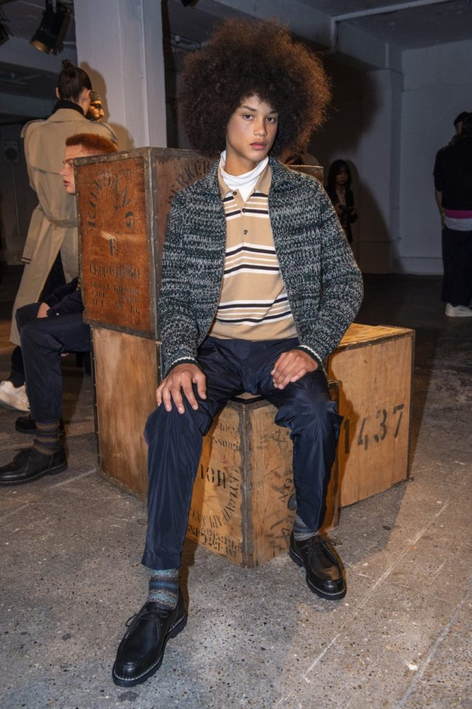 Lou Dalton Automne-Hiver 2019-2020 - London Fashion Week Men's