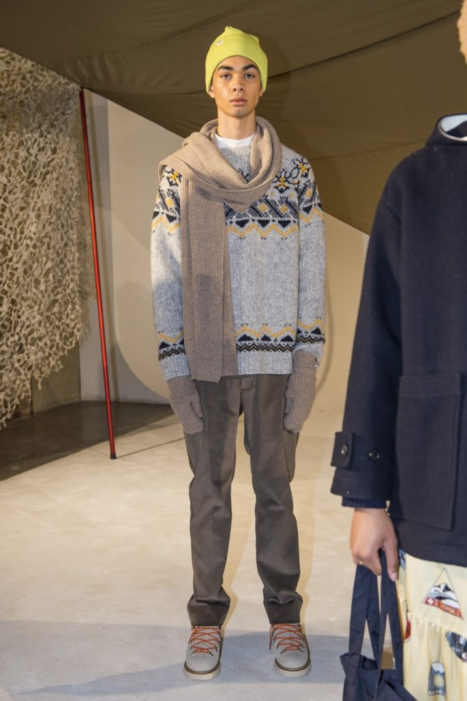 Wood Wood Automne-Hiver 2019-2020 - London Fashion Week Men's
