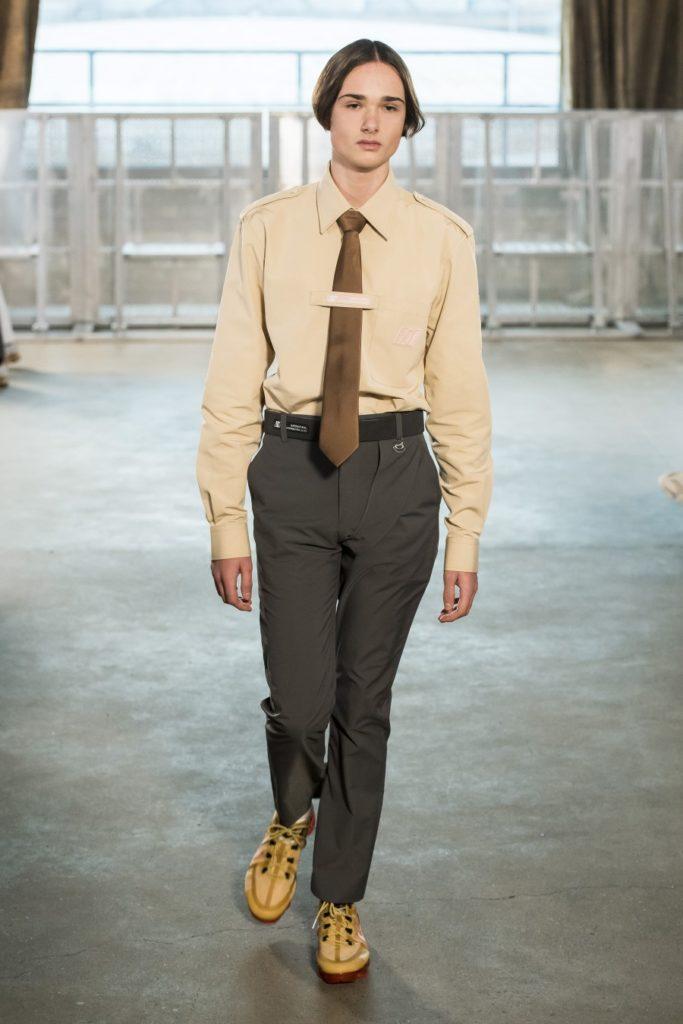 Xander Zhou Automne-Hiver 2019-2020 - London Fashion Week Men's