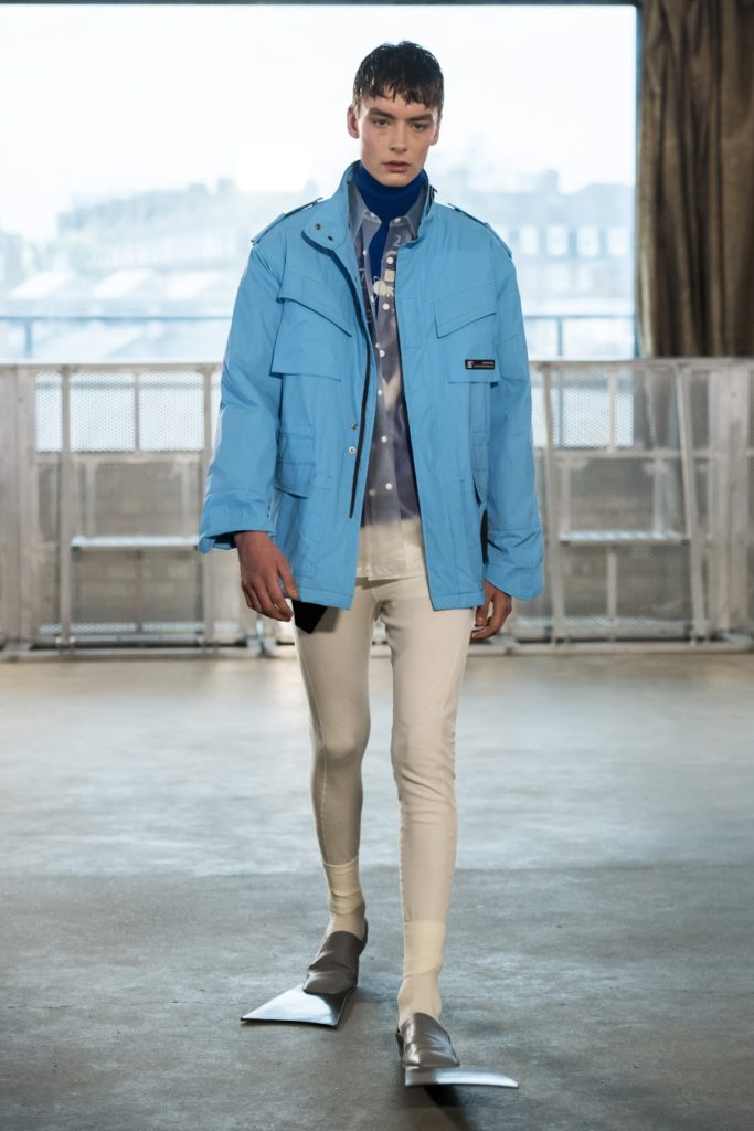 Xander Zhou Automne-Hiver 2019-2020 - London Fashion Week Men's