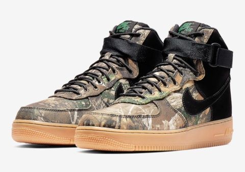 Nike Air Force 1 High Realtree Black