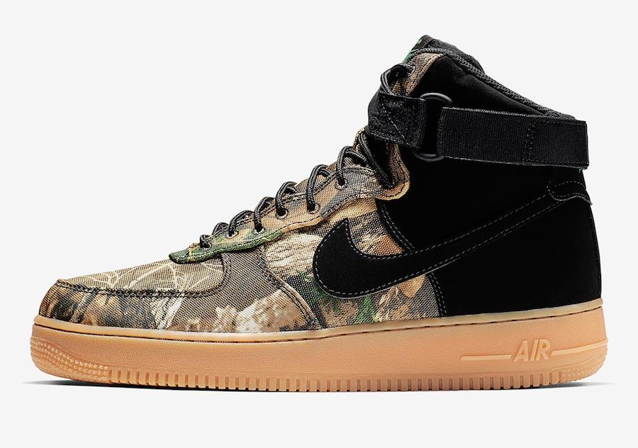 Nike Air Force 1 High Realtree Black
