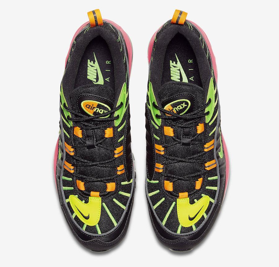 Nike Air Max 98 Highlighter Neon