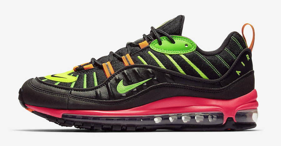 Nike Air Max 98 Highlighter Neon