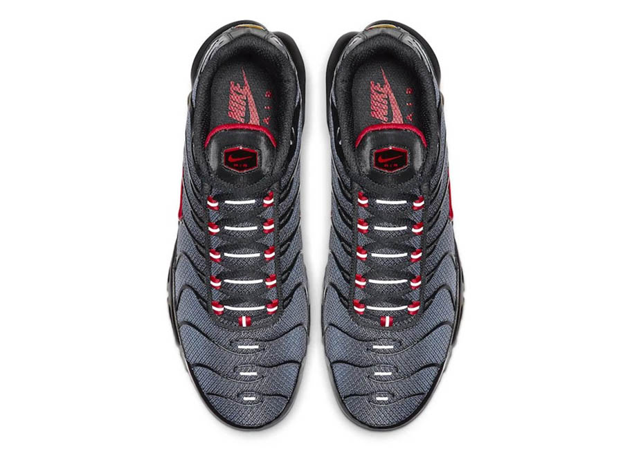 Nike Air Max Plus Grey Gradient Red