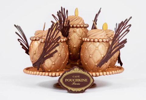 Pâques 2019 - Café Pouchkine - Œuf cocotier