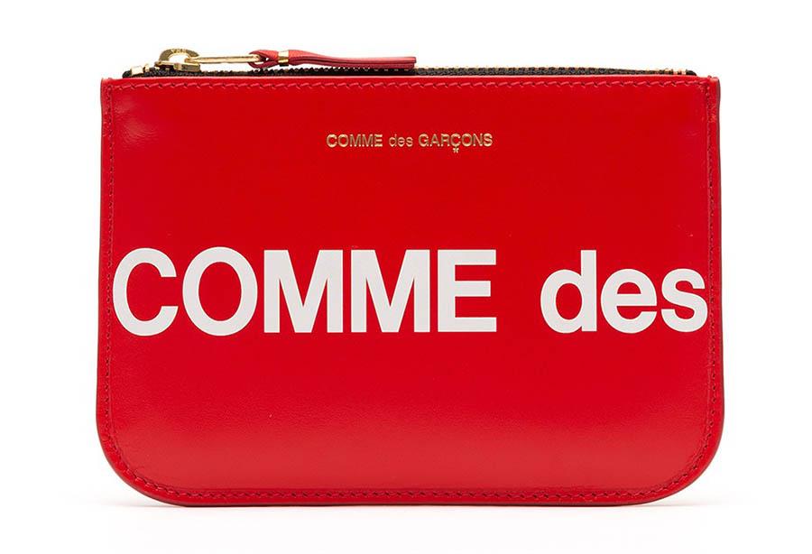 COMME des GARÇONS - Collection Portefeuille Wallet Huge Logo