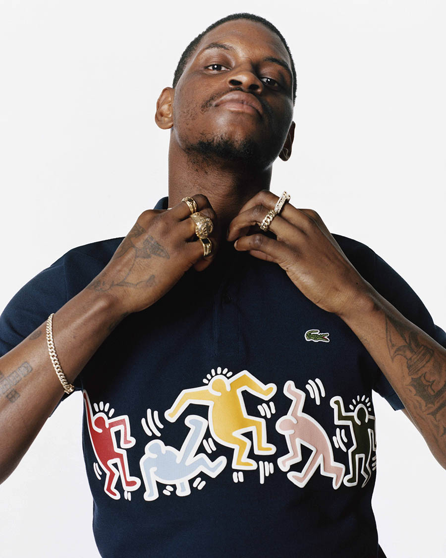 Collection Capsule LACOSTE x Keith Haring