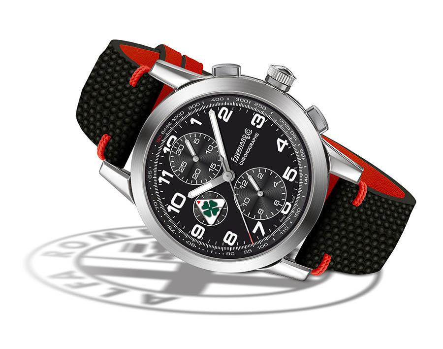 Eberhard & Co - Chronographe Quadrifoglio Verde