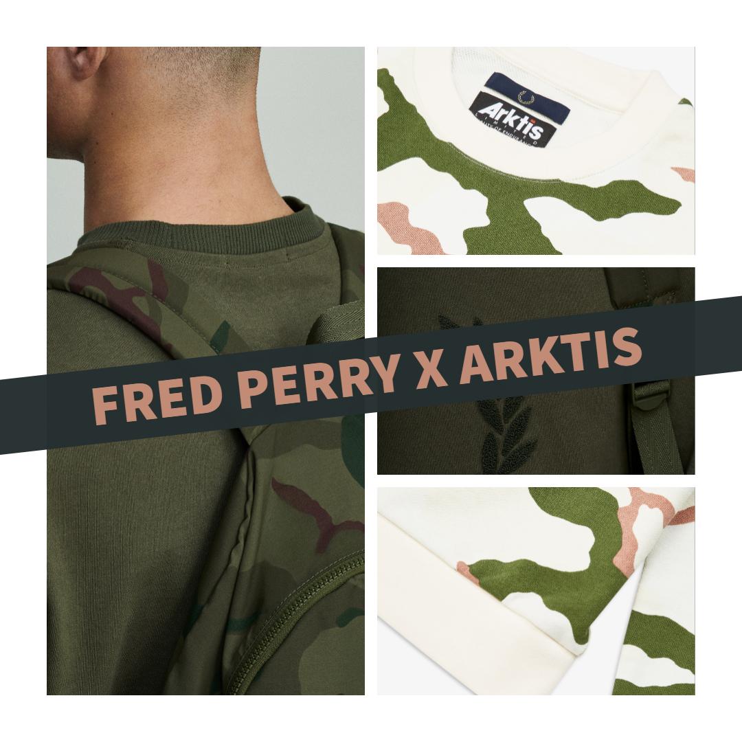 Fred Perry x ARKTIS Printemps-Été 2019