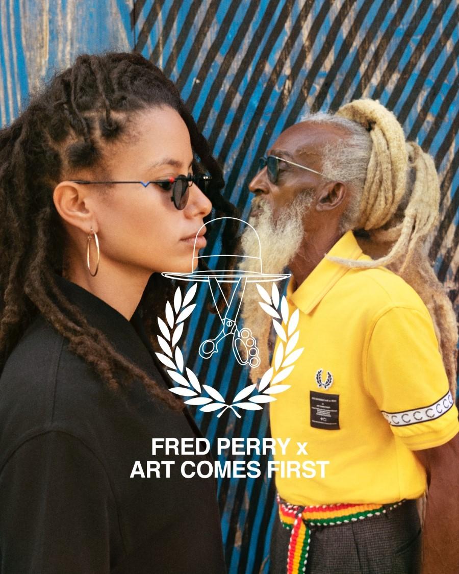 Fred Perry x Art Comes First Printemps-Été 2019