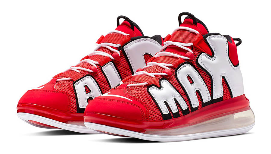 Nike Air More Uptempo 720 University Red