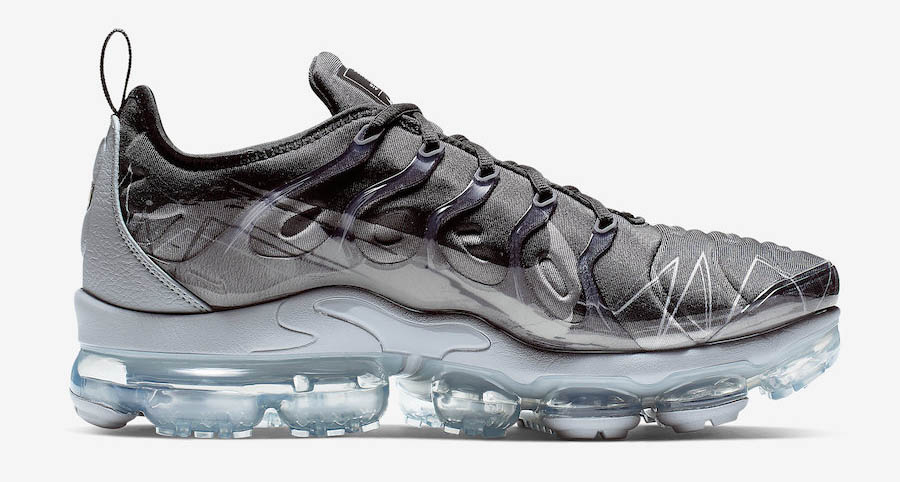 Nike Air VaporMax Plus Black Wolf Grey