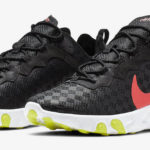 Nike React Element 55 Black Crimson Volt