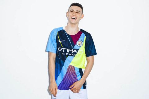 Nike x Manchester City Maillot Mashup